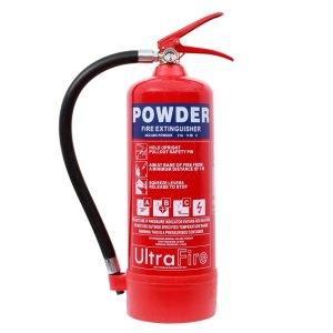 ULTRAFIRE 4KG POWDER FIRE EXTINGUISHER
