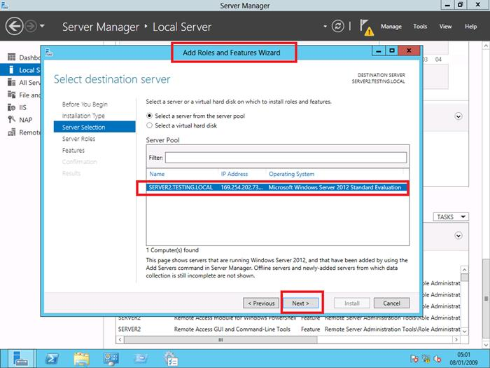 Windows Server 2012 DNS Installation