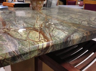 MCM Stone Green Table in Gallery