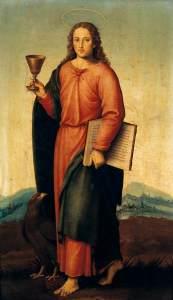 Picture of St. John the Evangelist by Joan de Joanes (1507-1579)