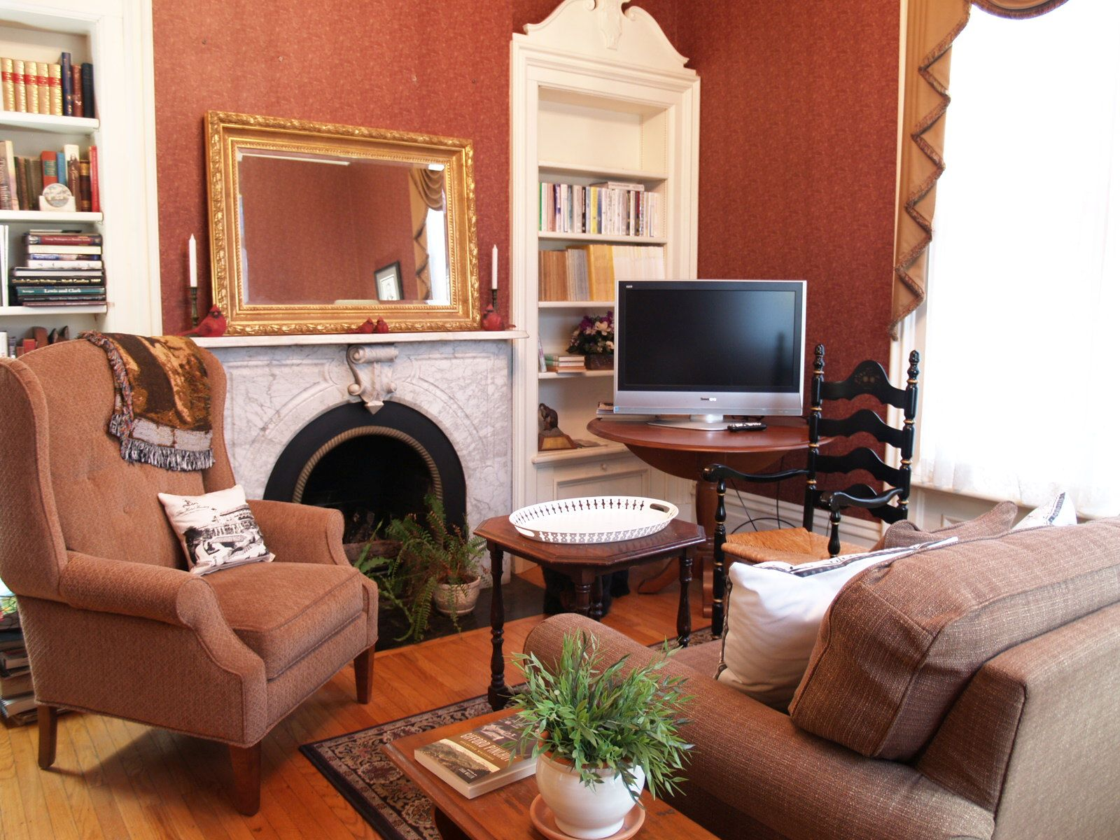Library at McMullen House Bed & Breakfast LLC