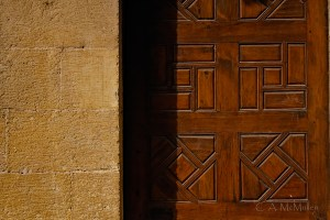 Wall and Door, Coptic Cairo
