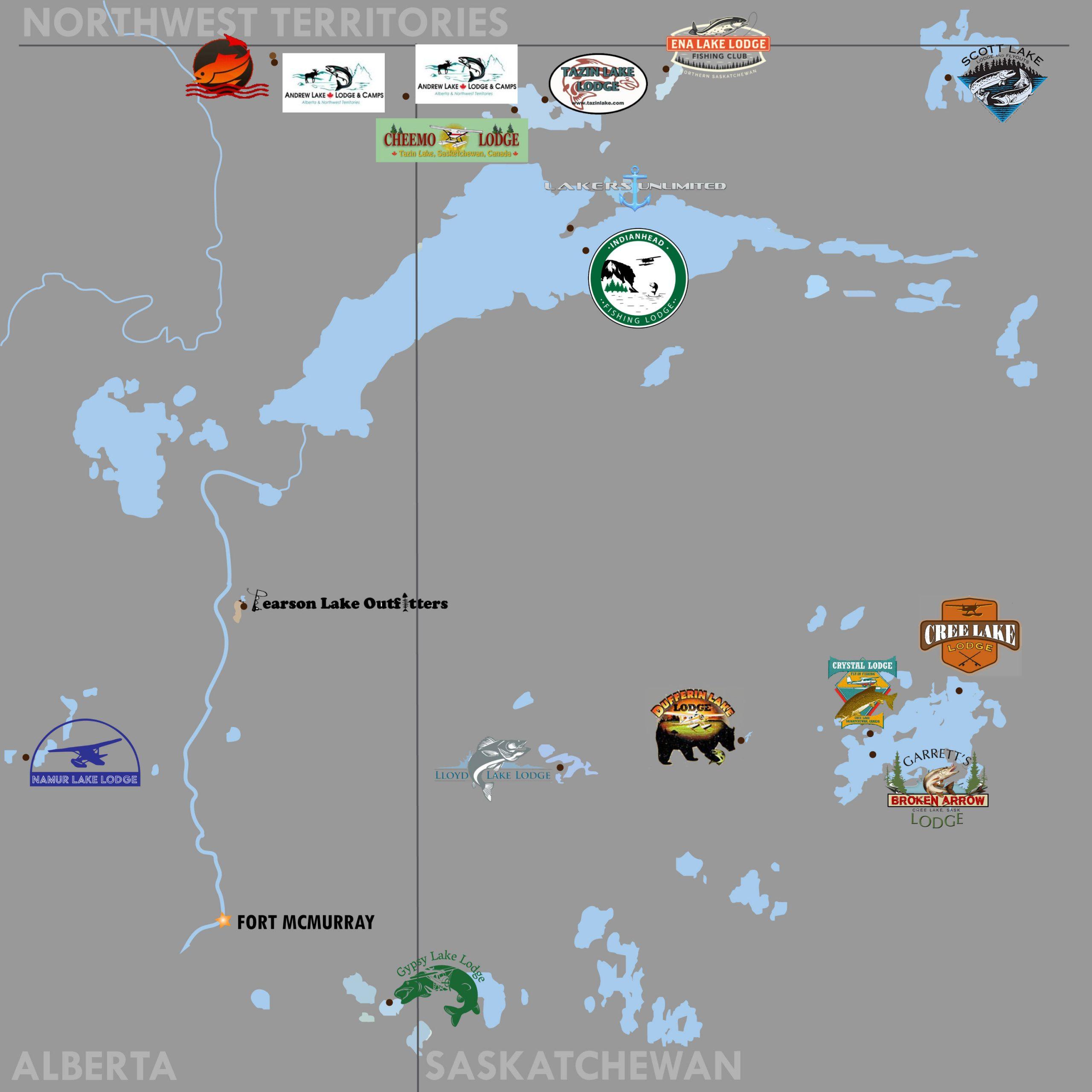 Fishing Lodge Map 2021
