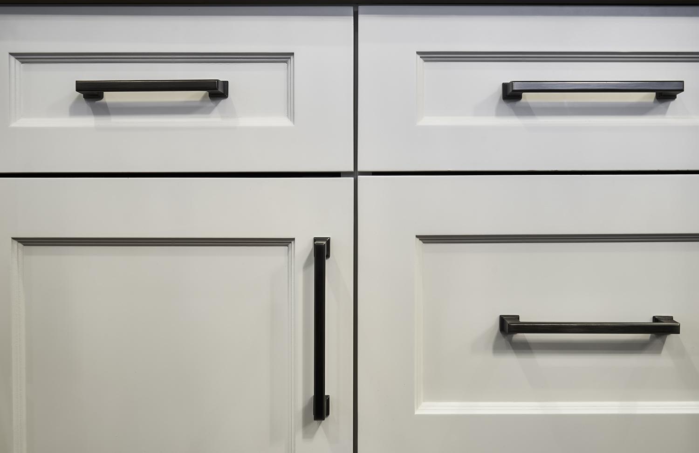 Lower Custom Cabinetry detail shot