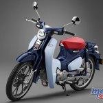Honda Super Cub 110 Commemorative Edition Concept Motorcycle News Sport And Reviews