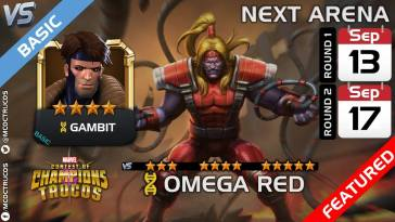Next Arena: Omega Red is in Arena Now