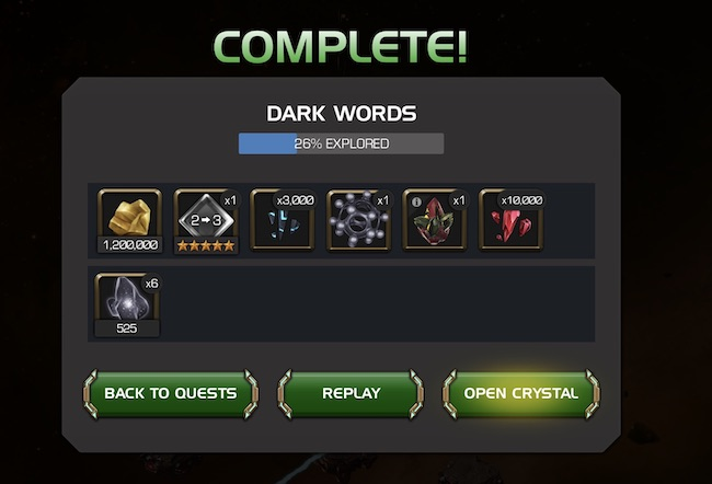 Back Issue 5 Completion Rewards