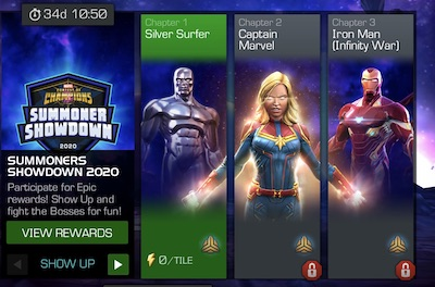 Summoners Showdown 2020 Silver Surfer Counters