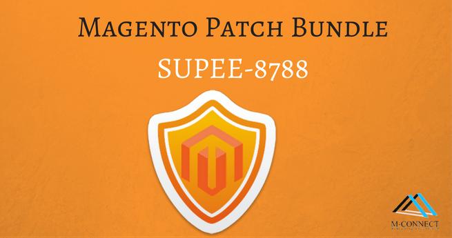 Magento Patch Bundle SUPEE-8788