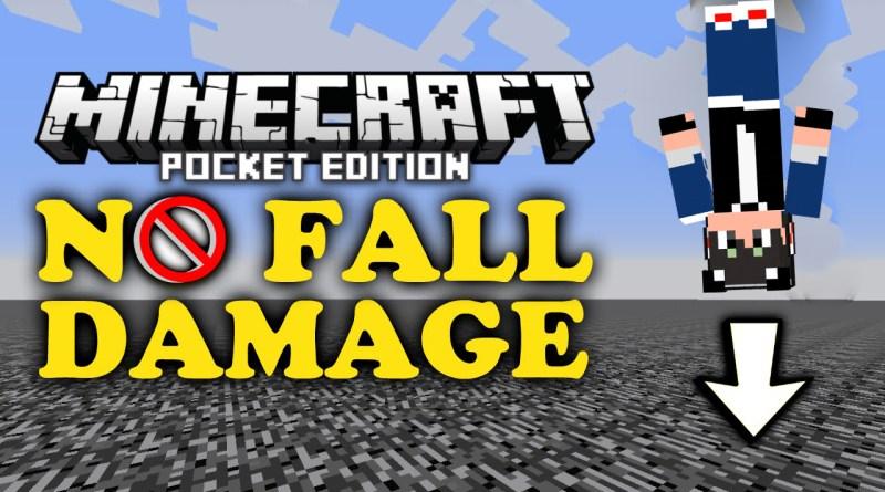 No Fall Damage Addon – MCPE 0.17.0