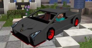 Lamborghini Veneno Addon – MCPE 1.0.x