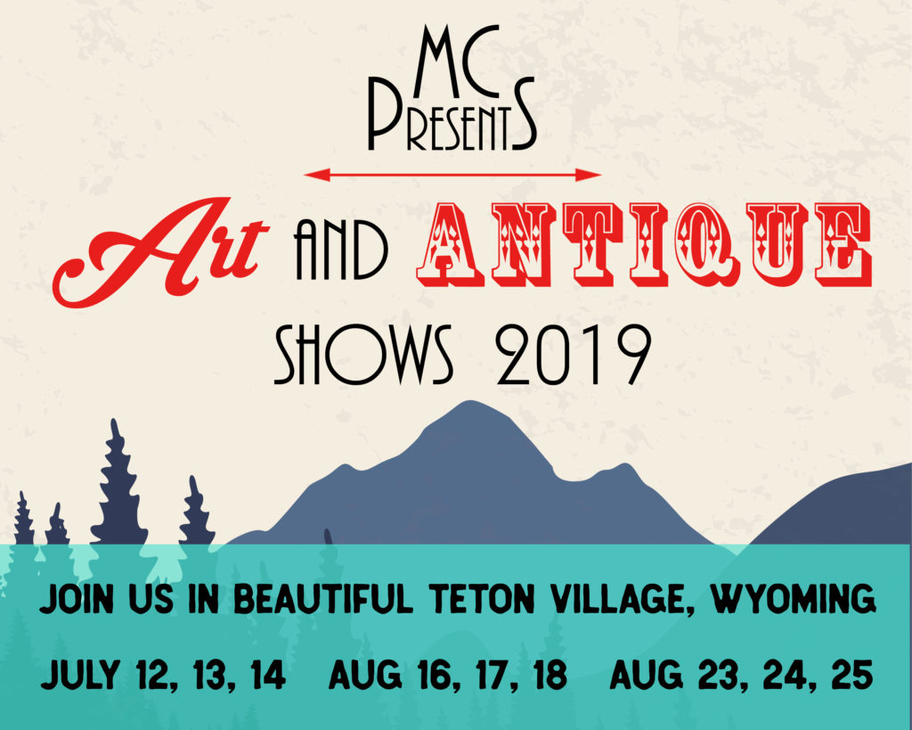 MC Presents art and antique shows 2019