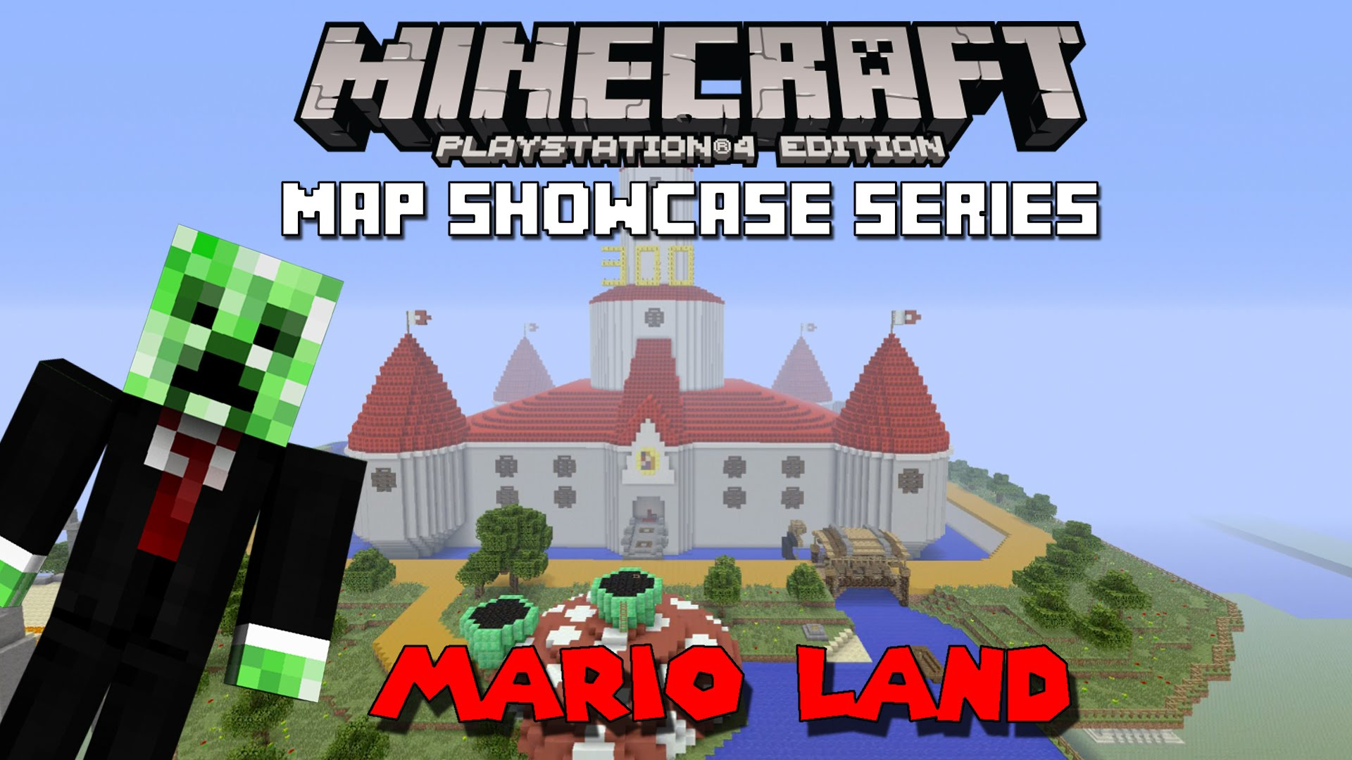 Minecraft PS3 Maps Mario Land Map Download