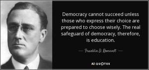 Dangers of imperfect democracy an essay