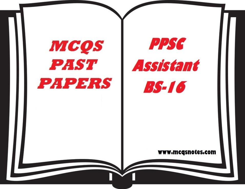 PPSC Past Paper Assistant BS-16