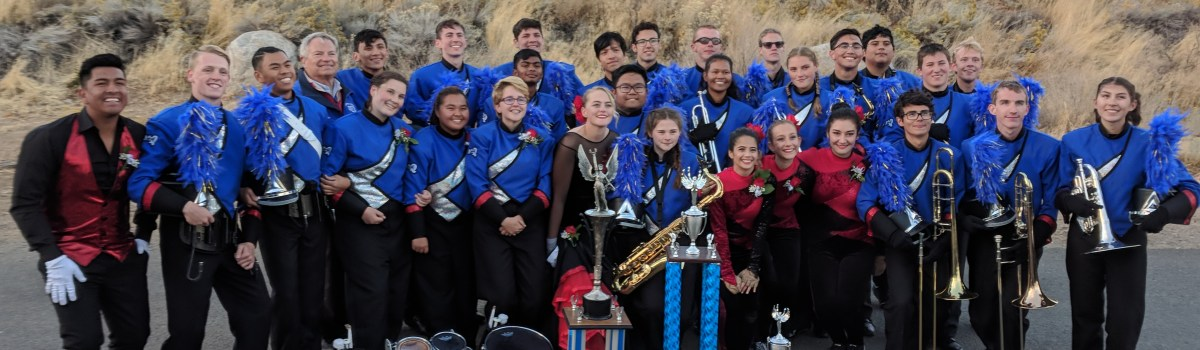 Congratulations McQueen High School Marching Band! Nevada State Champions!