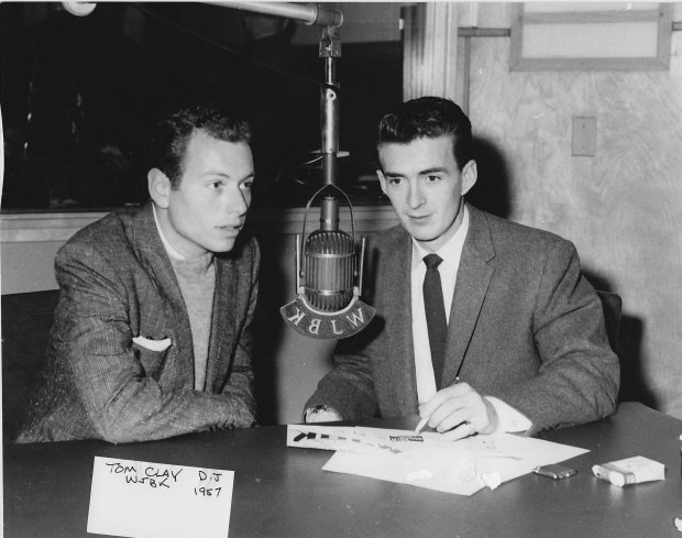 WJBK - Tom Clay - 1957