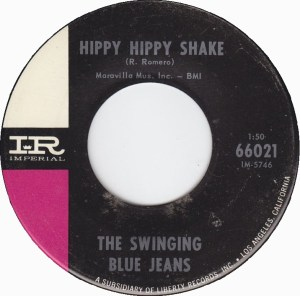 Hippie hippie shake swinging bluejeans