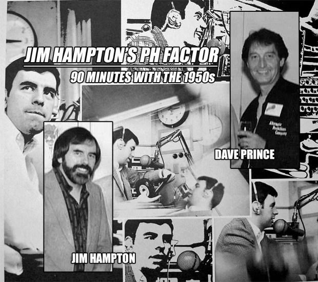 Jimmy Hampton Dave Prince (PH Factor '70s) WXYZ Collage (MCRFB)