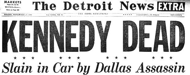 The Detroit News, Friday, November 22, 1963