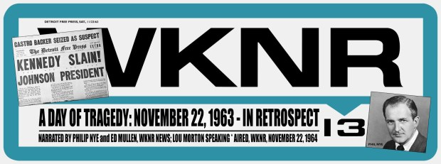 WKNR Keener 13 Bumper Sticker (MCRFB A Day Of Tragedy)