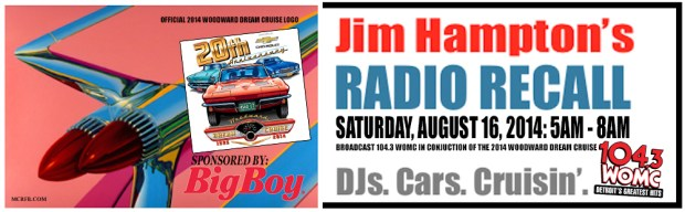 Jim Hampton Cruisin Radio Recall August 2014