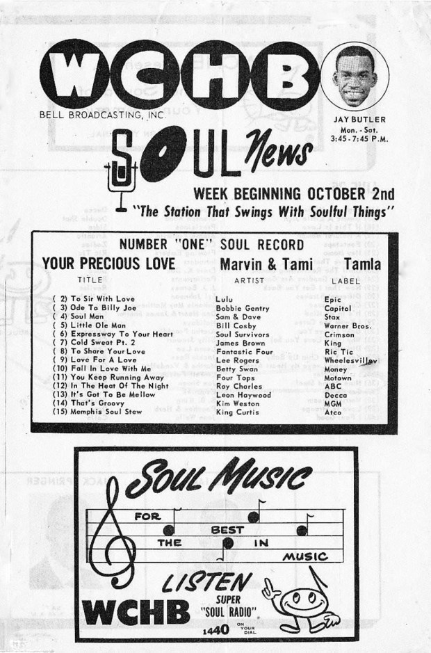 WCHB October 2, 1967