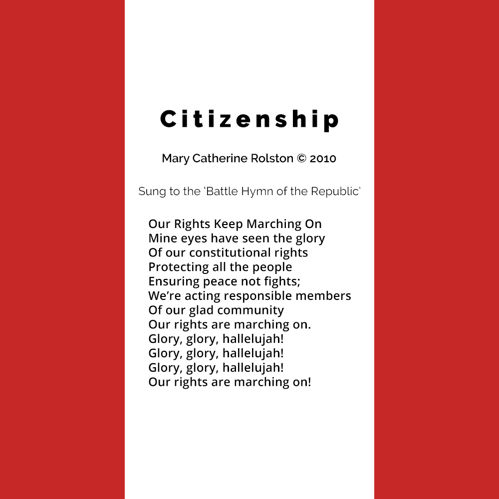 Citizenship Poem