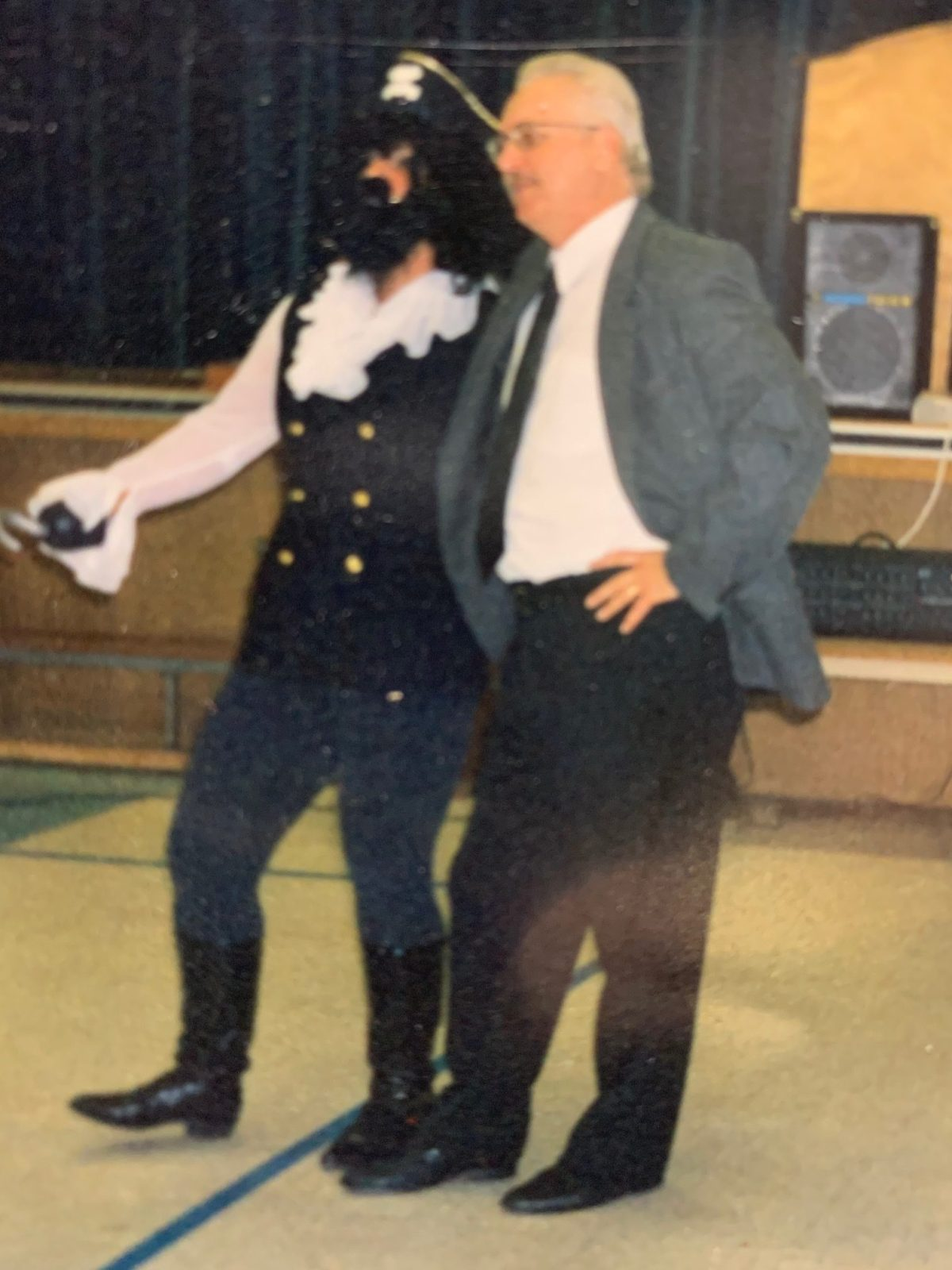 MC Rolston as Captain Hook