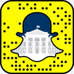 Snapchat the white house