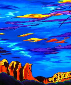 Sailing Sedona's Sky