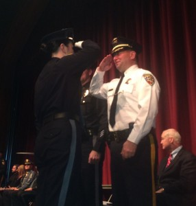 Sheriff Golden 89th Basic Graduation