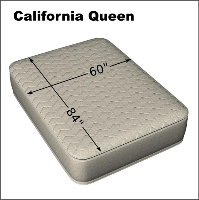 California Queen 60 X 84 Cotton Quilted Mattress Pad
