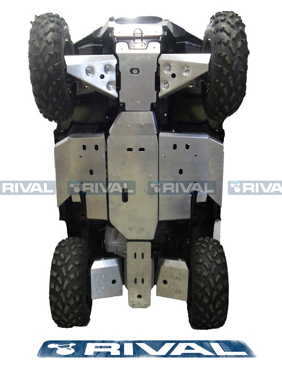 Rival Front And Rear Cv Guard Set For Atv Polaris Sportsman Touring 500 H O 2
