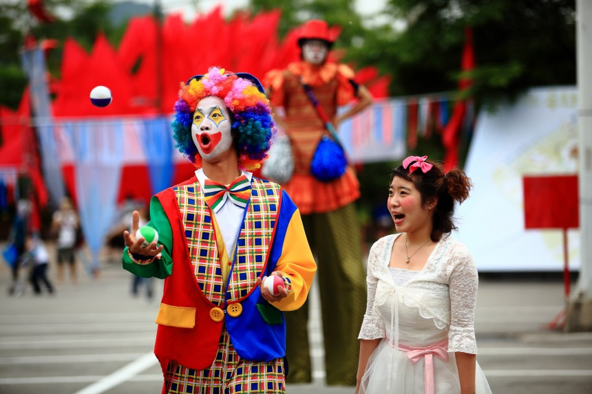 festivals printaniers incontournables en Corée :  Chuncheon international mime festival ©Ministry of culture, sports and tourism