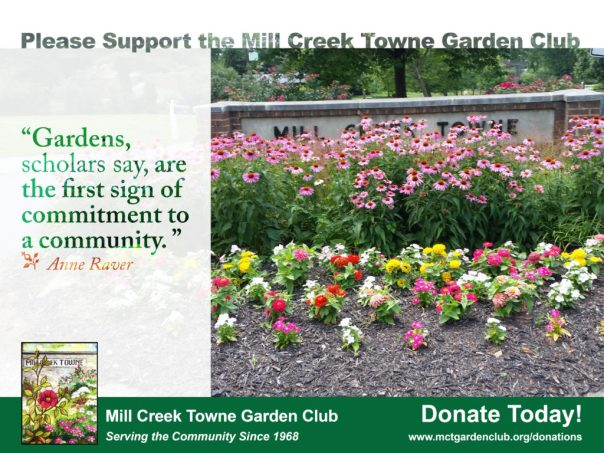 Support Mill Creek Towne Garden Club - Donate Today
