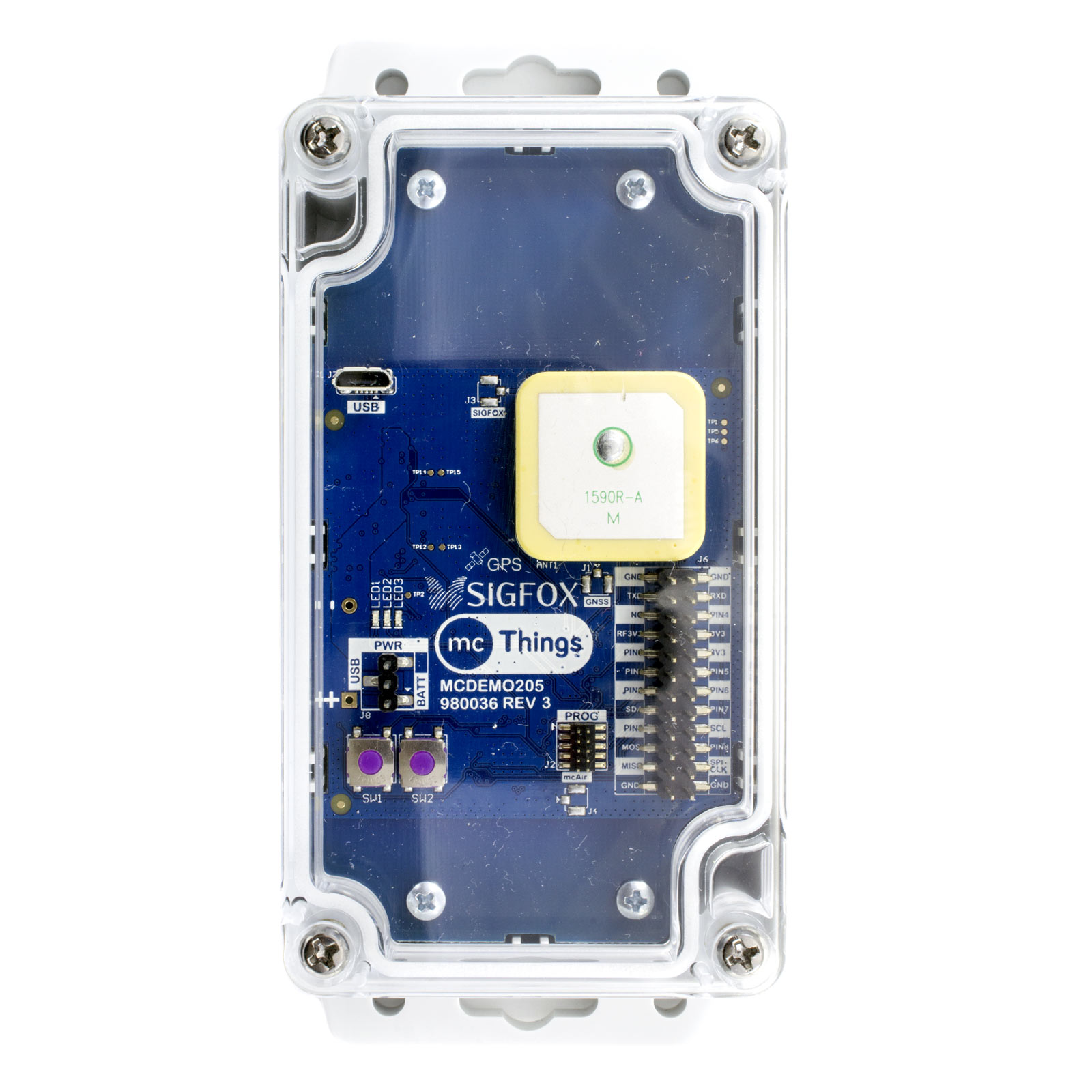mcDemo205 Internet of Things Asset Tracking Device
