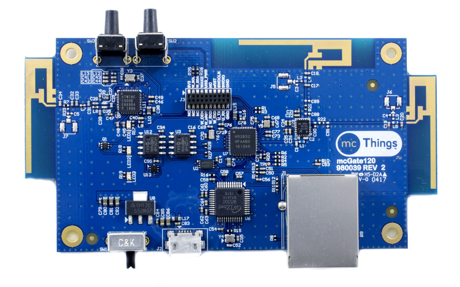 mcGateway120 Internet of Things Bridge