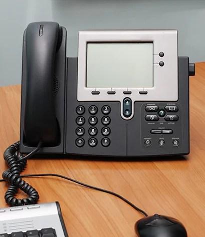 installation de solution téléphonique
