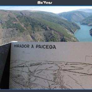 Cartel mirador A Paciega