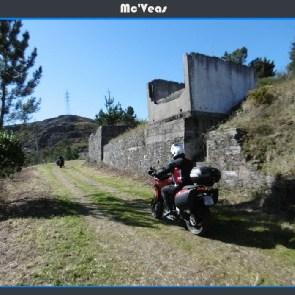 Ducati saliendo de A Paicega