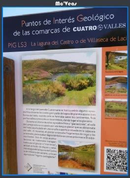Cartel Lago del Castro