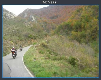 motos subiendo la Farrapona