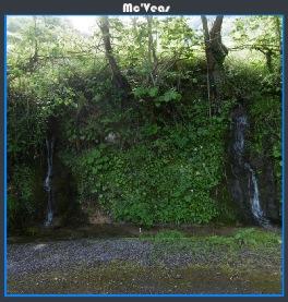 naturaleza en el desfiladero de las xanas