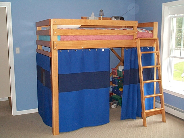 loft bed! It is a great bed for our 6 year old son. Prior to placing