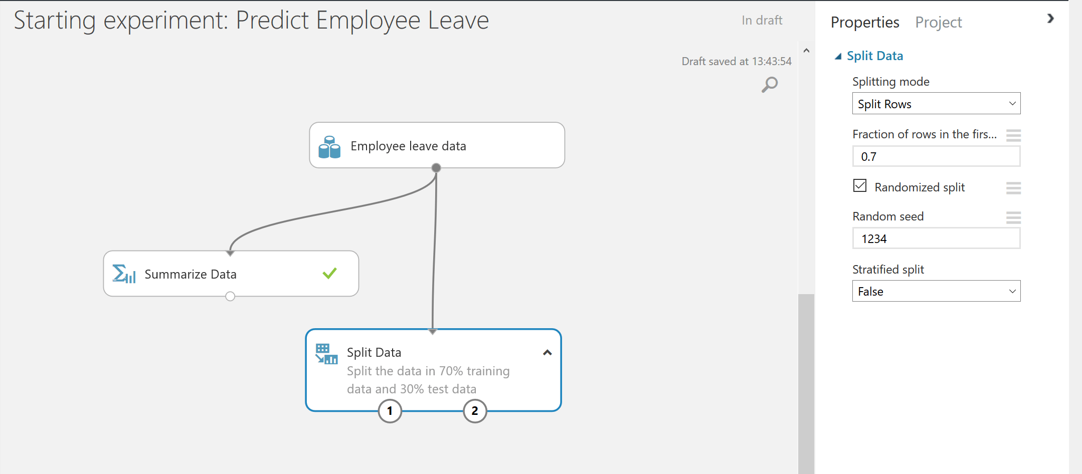 Predict employee leave - an example of Human Resources Analytics