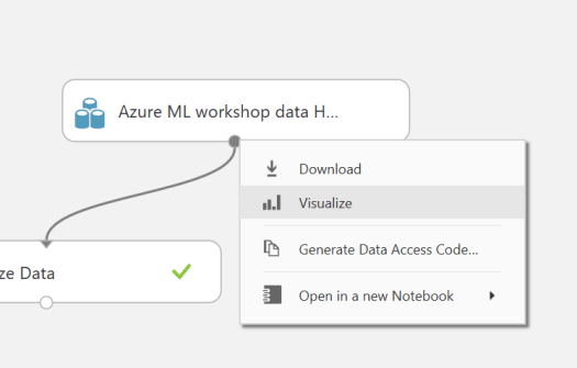 Azure-ML-Visualize-Data