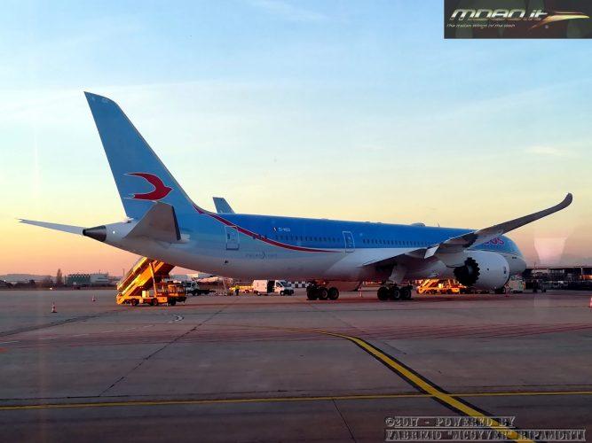 Dreamliner NEOS a VRN