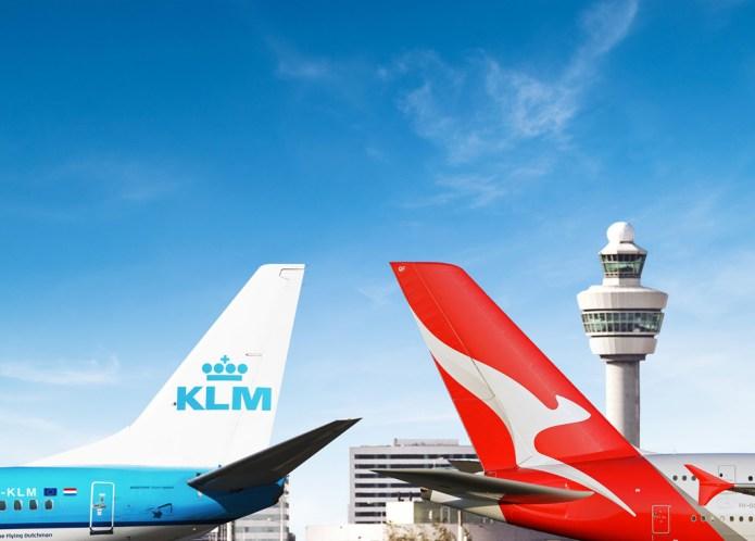 KLM QUANTAS code sharing
