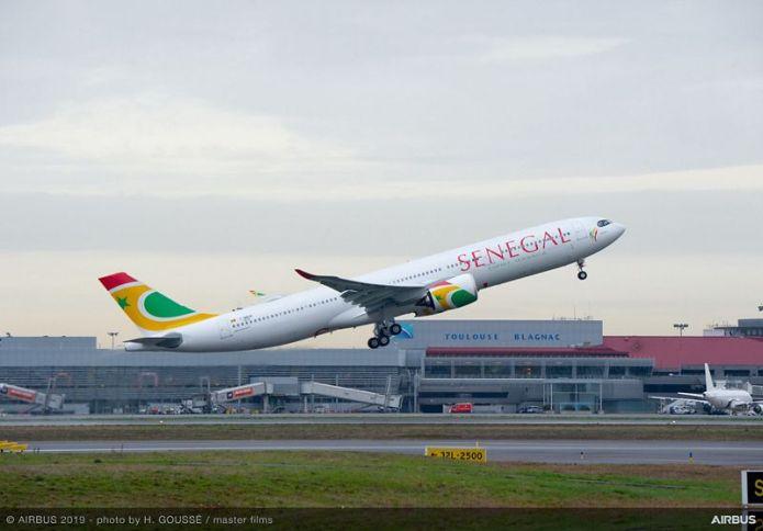 A330 900 Air Senegal MSN1910 take off 004